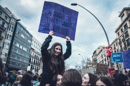 Protest kobiet na Rynku w Rzeszowie
